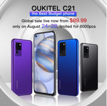 Oukitel C21 Price