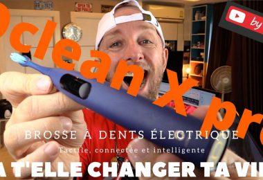 Oclean X Pro Brosse À Dents Électrique Écran Tactile Couleur