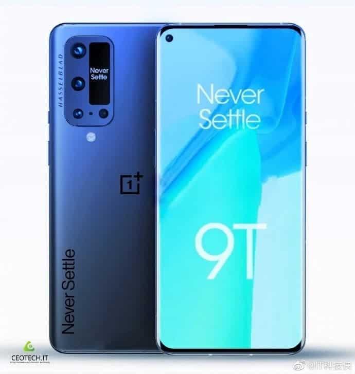 oneplus 9t pro screen