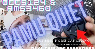 Pamu Quiet Avec Double Cpu,2 Reductions De Bruit Et Super Packaging À Prix Gogo