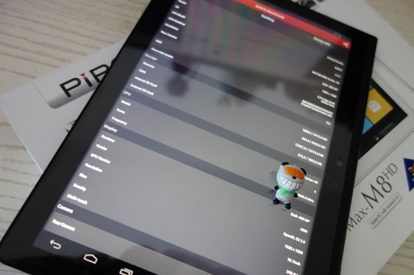 Pipo M8 HD benchmark