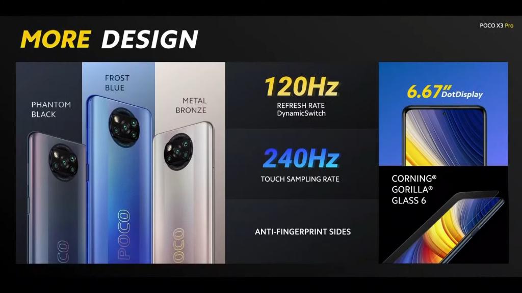poco x3 pro display 5