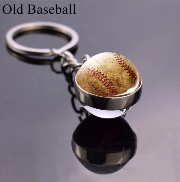 porte clés baseball old school