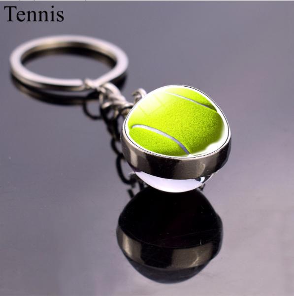 porte clés de tennis