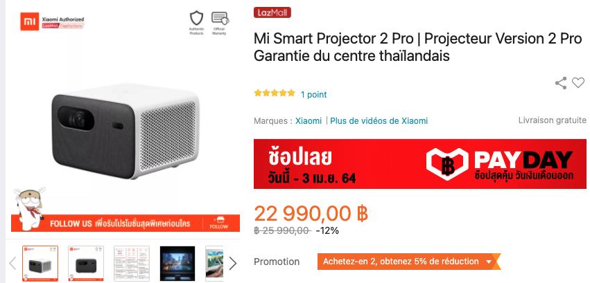 promo mi smart projector 2 pro