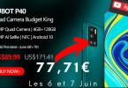 Promo Cubot 77 Euros