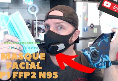 Quel Masque Choisir Entre Ffp1,ffp2,n95,kn95 Ou Electrique