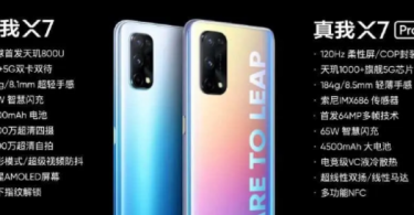 Realme X7 Realme X7 Pro