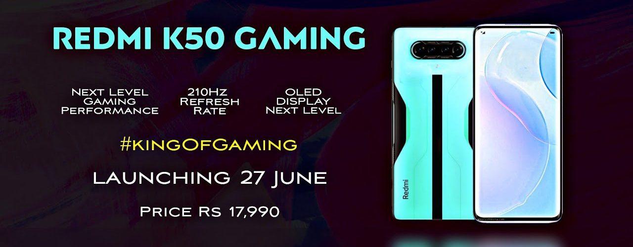 redmi k50 gaming