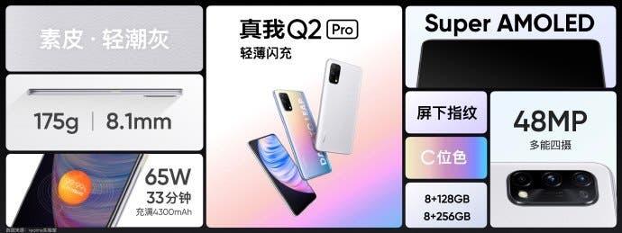 Realme Q2 & Realme Q2 Pro Details