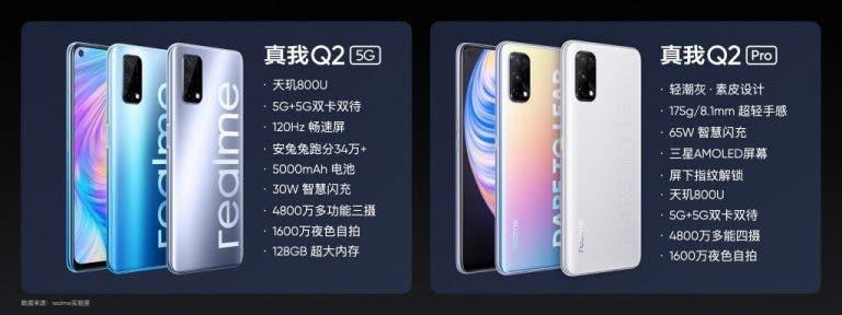 Realme Q2 & Realme Q2 Pro