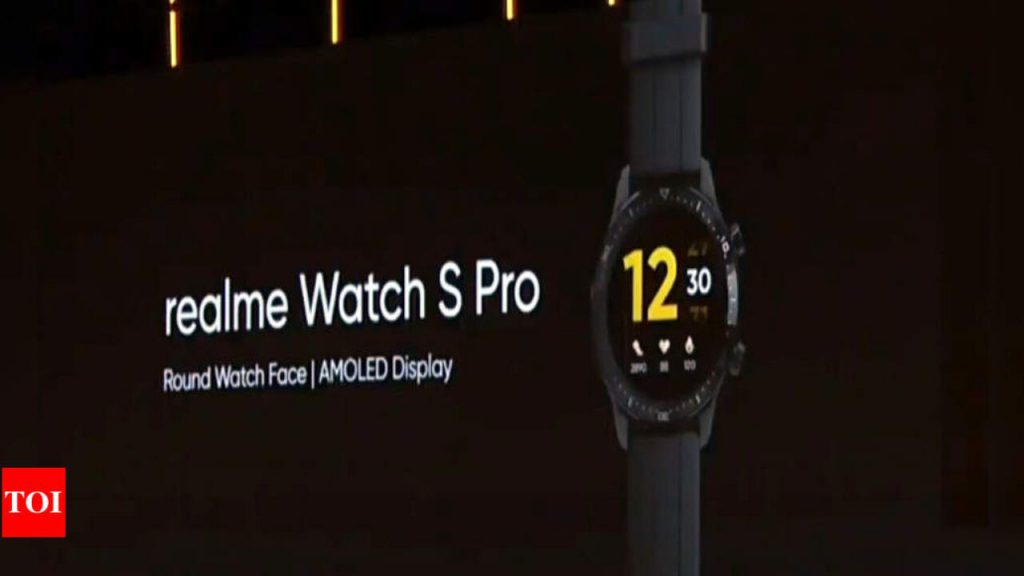Realme Watch S Pro With 139 Inch Amoled Display 420mah Battery 1280x720