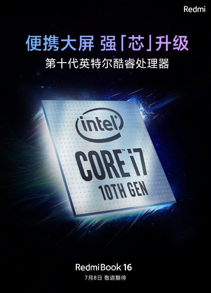 Redmibook 16 Intel Teaser 1