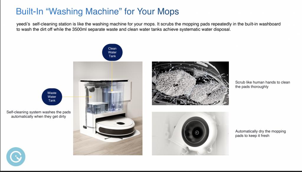 robot aspirateur sttaion lavage