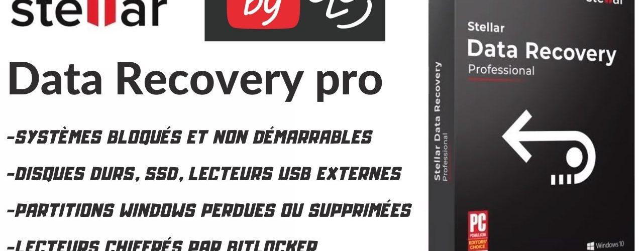 Stellar Data Recovery Professional, Logiciel De Récupération De Données Pour Mac Ou Windows, Bitlocker,formatage,virus ...