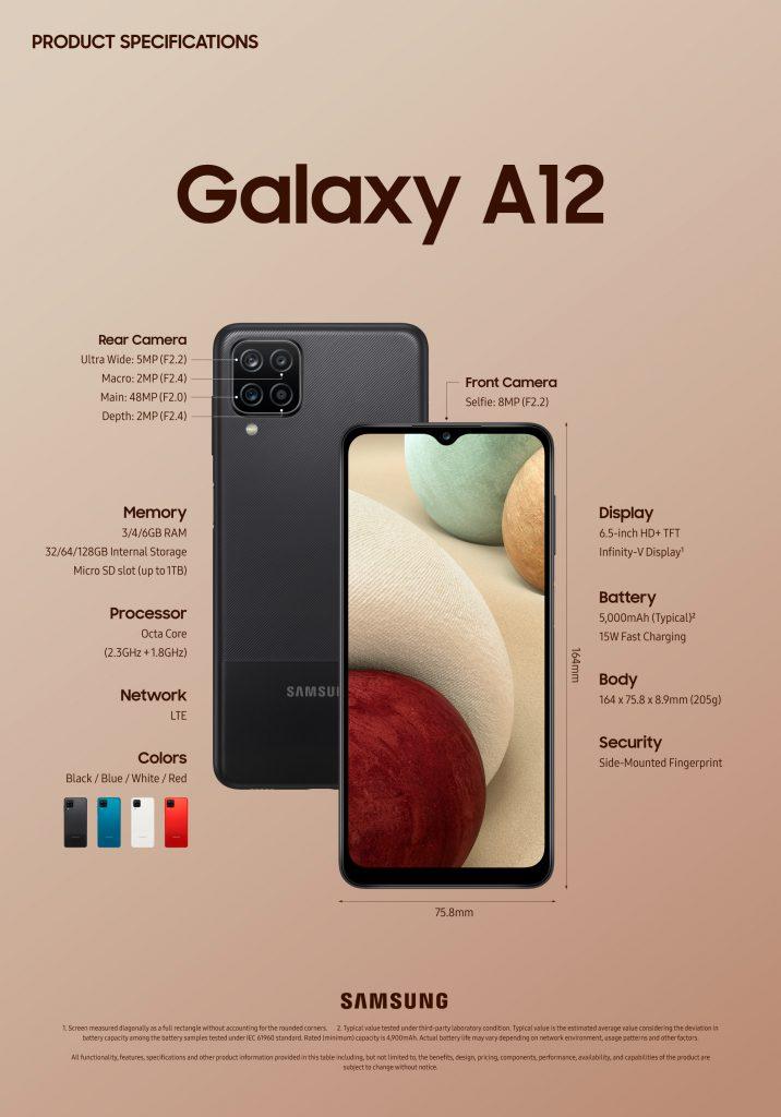 Samsung Galaxya12