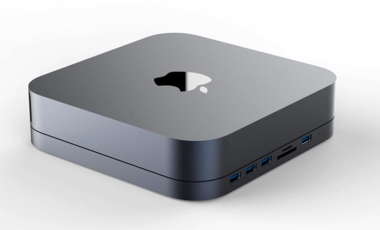 Support Hub Mac Mini Avec Disque Sata 2,5