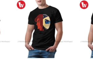 t shirt goldorak design