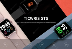 Ticwris Gts Real Time Body Temperature Detect Smart Watch