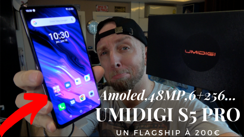 Test Umidigi S5 Pro