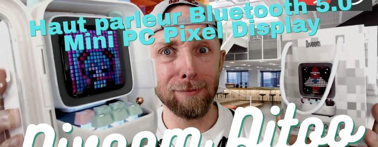 Test Divoom Ditoo Pixel Art