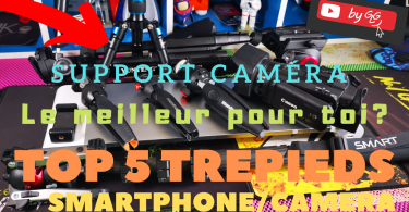 Top 5 Trepieds Smartphones Et Caméras