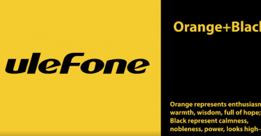 Ulefone Orange & Black