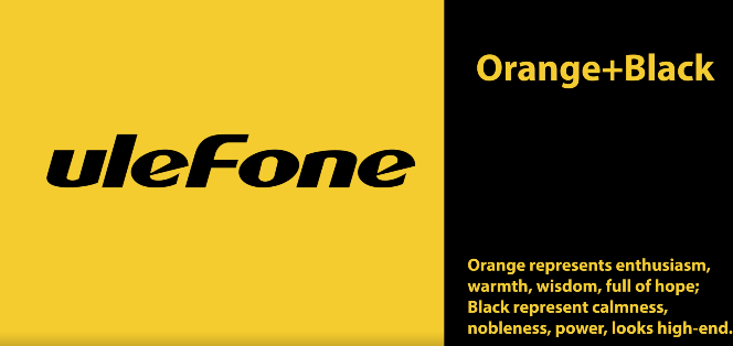 Ulefone Orange & Black
