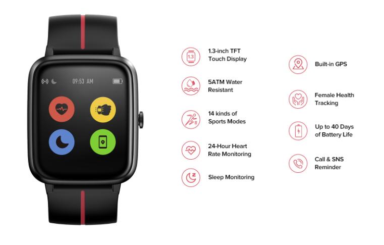 Ulefone Watch Gps Details