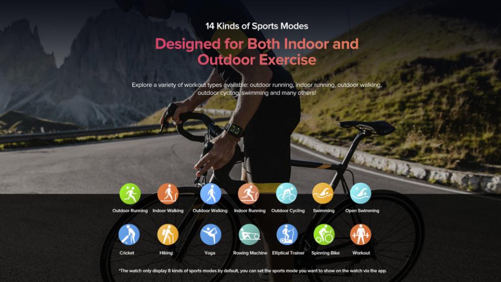 Ulefone Watch Gps Sports Mode