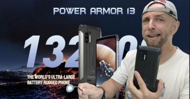 ulefone power armor 13 13200mah avec endoscope,je suis choqué, mais heureux !