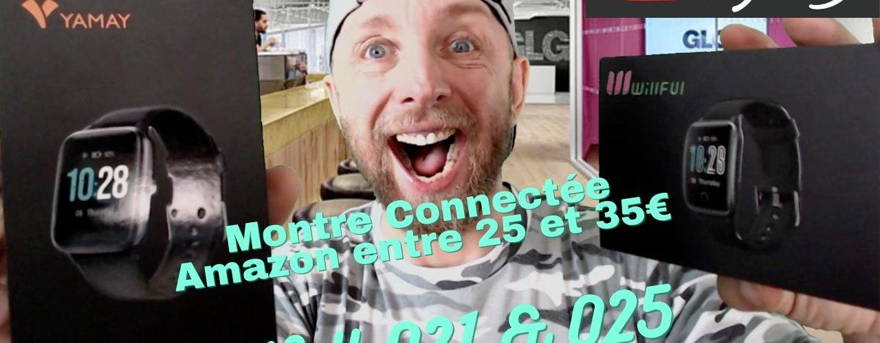 Willfull 021 Et 025, 2 Montres Connectées Amazon À 30€ Qui Font Le Taf