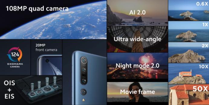 Xiaomi Mi 10 108mp
