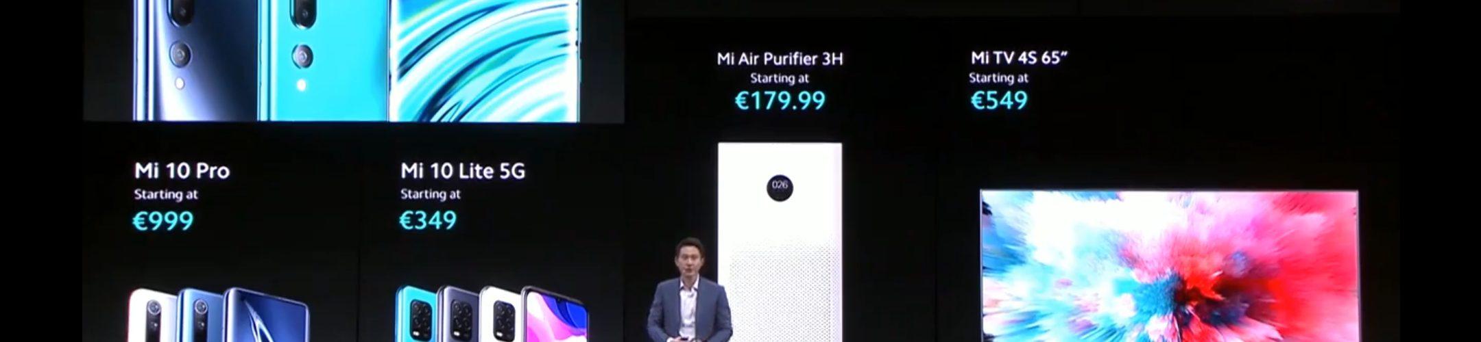 Xiaomi Mi 10 Europe