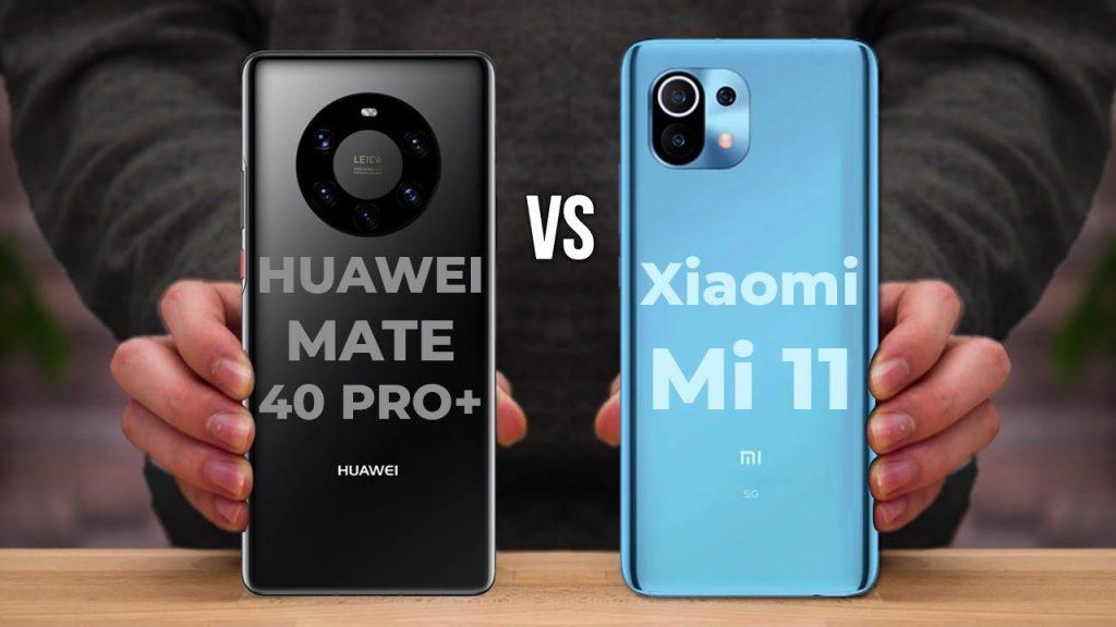 Xiaomi Mi 11 Vs Huawei Mate 40 Pro