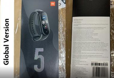 Xiaomi Mi Band 5 Global