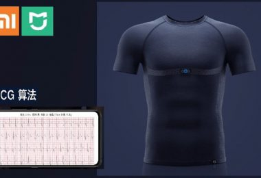 Xiaomi Mijia Sports T Shirt Smart Adi Ecg