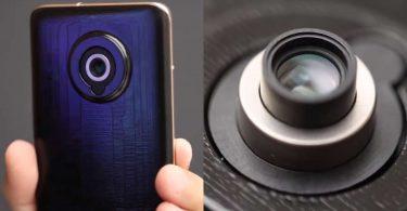 Xiaomi Retractable Lens Technology