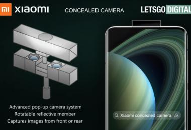 Xiaomi Caméra Pop Up Avec Miroir Réfléchissant