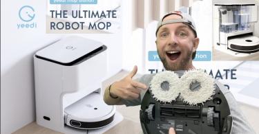 yeedi mop station, le robot aspirateur avec serpillere ultime avec sa station de lavage