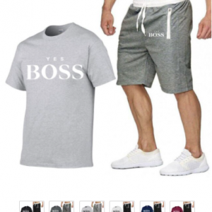 yes boss t shirt + short