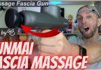 yunmai fascia gun pro basic, massage à percussion portable vraiment efficace
