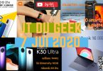 Zap Actu High Tech 7 Jui,redmibook 16 Intel, Mi Band 4c,redmi K30 Ultra, Pc Huawei, Iqoo Z1x, Oukitel Wp5 Pro