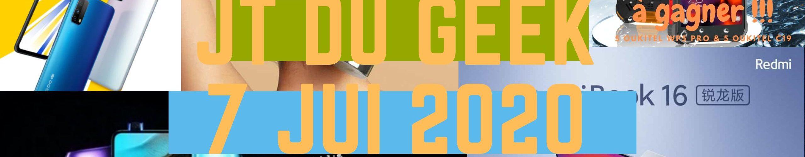 Zap Actu High Tech 7 Jui,redmibook 16 Intel, Mi Band 4c,redmi K30 Ultra, Pc Huawei, Iqoo Z1x, Oukitel Wp5 Pro