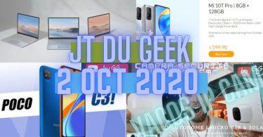 Zap Actu Tech 2 Oct