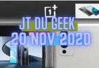 Zap Actu Tech 20 Nov #redmik40 #samsungs21 #oneplus9 #redminote95g