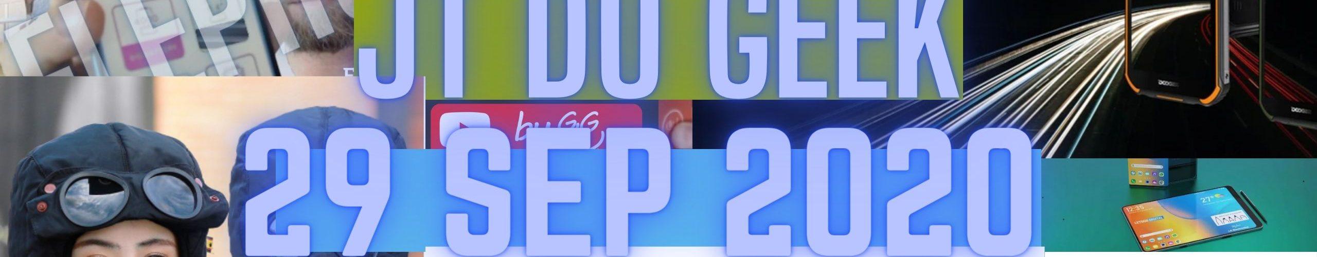Zap Actu Tech 29 Sept