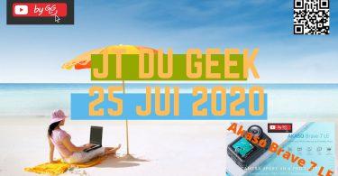 Zap Actu Tech Jt Du Geek 25 Juillet