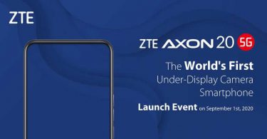 Zte Axon 20 Camera In Display