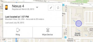 application google de localisation de smartphones